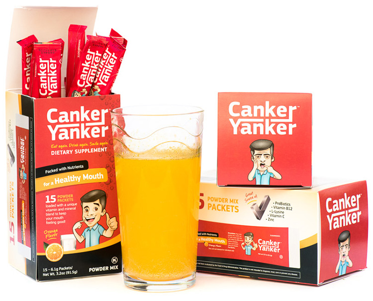 CankerYanker-packaging-stick-packs-cup-drink-supplement